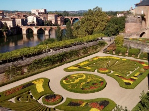 Bishop's Gardens and River, Albi, France