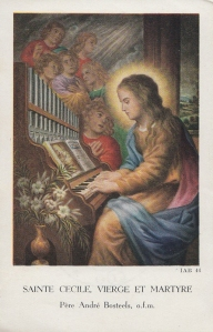 French Holy Card, 1800s