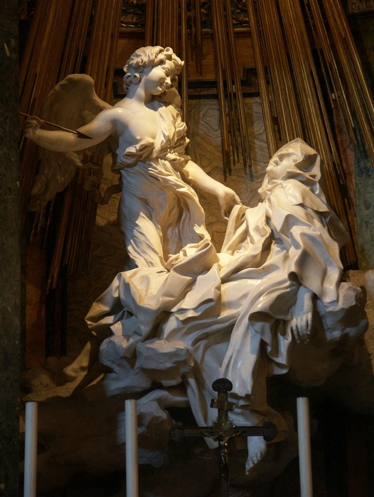 Ecstasy of Saint Teresa (from Wikimedia Commons)